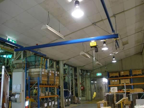 Aluminium Light Crane Systems and Monorails